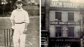 Jack Sharp: The man who scored the 100th Test hundred