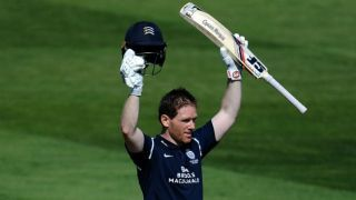 Morgan smashes ton for Middlesex ahead of Australia series