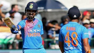 Rahul, Raina, Pandya guide IND to 213 against IRE
