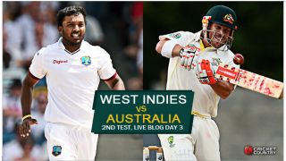 Live Cricket Score, WI vs Aus 2015, 2nd Test, Kingston, Day 3, WI 16/2: Stumps called as Aus smell victory