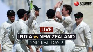 LIVE Cricket Score in Hindi, India Vs New Zealand, 2nd Test 2016, Day 2