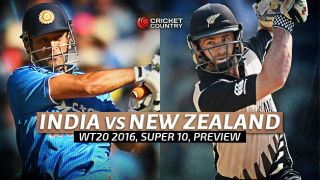 India vs New Zealand, ICC World T20 2016, Match 13 at Nagpur, Preview: Kiwis can build on spotless record against hosts