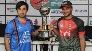 In Pictures: Afghanistan vs Bangladesh, 1st T20I