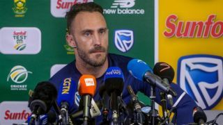 Du Plessis backs ICC's decision of removing toss from Test matches