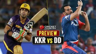 KKR vs DD, IPL 2017 Match 32 preview and likely XI: KKR look to maintain lead