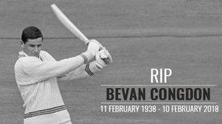 Bevan Congdon: A much-respected name in the annals of New Zealand cricket