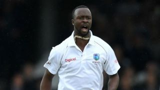 BAN bowled out for 43 before lunch, Roach takes 5