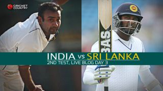 IND 70/1   Live Cricket Score, India vs Sri Lanka 2015, 2nd Test at Colombo, Day 3: At Stumps, India leads by 157