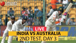Live Cricket Score, India vs Australia 2017, 2nd Test, Day 3: India end Day 3 with 126-run lead