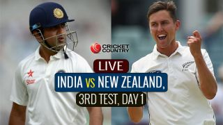 Live Cricket score in Hindi, India Vs New Zealand, 3rd Test 2016, Day 1
