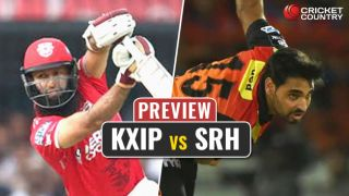 KXIP vs SRH IPL 2017, Match 33: KXIP, SRH look to inch closer to top-4 finish