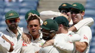 IND vs AUS 1st Test Day 2: O'Keefe triggers shocking India-collapse, Smith's gritty fifty and other highlights