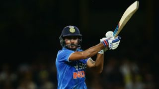 Live cricket scores, India A vs Afghanistan A, South Africa Tri-series