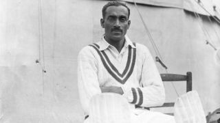 Learn more about India's first Test captain Col. CK Naidu