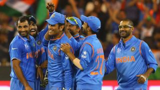 Dhawan, Kohli, Ashwin, Shami to play a crucial role for Dhoni in the upcoming series against Australia