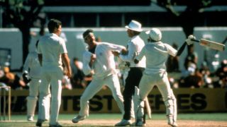 When Dennis Lillee and Javed Miandad came close to a physical fight