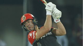 IPL 2017: AB de Villiers powers RCB to competitive total vs KXIP in IPL 10, Match 8