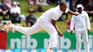 West Indies 25-0 against Zimbabwe before tea, Day 2, 2nd Test