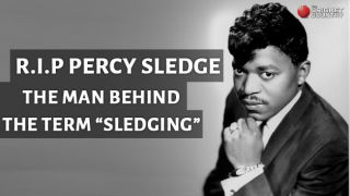 """Percy Sledge: The man behind the term """"sledging"""""""