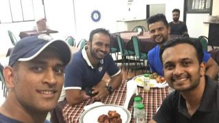 Dhoni has heavy lunch after running 20 metres in 2.91 seconds