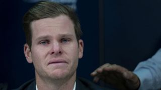 Twitteratti console tearful Smith during ball-tampering press conference in Sydney