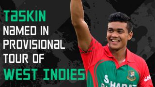 Taskin named in provisional squad for WI tour