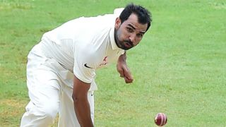 India vs West Indies 2nd Test highlights: Shami's 4-for and more